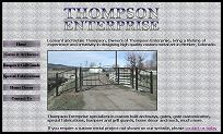 Thompson Enterprise-Custom Metal Art by Leonard & Betsie Thompson